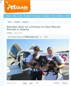 Animal Resuce Mission Article on PetGuide.com