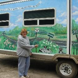 Mural Artist Ellen
