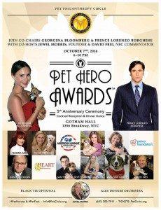 2016 Pet hero Awards