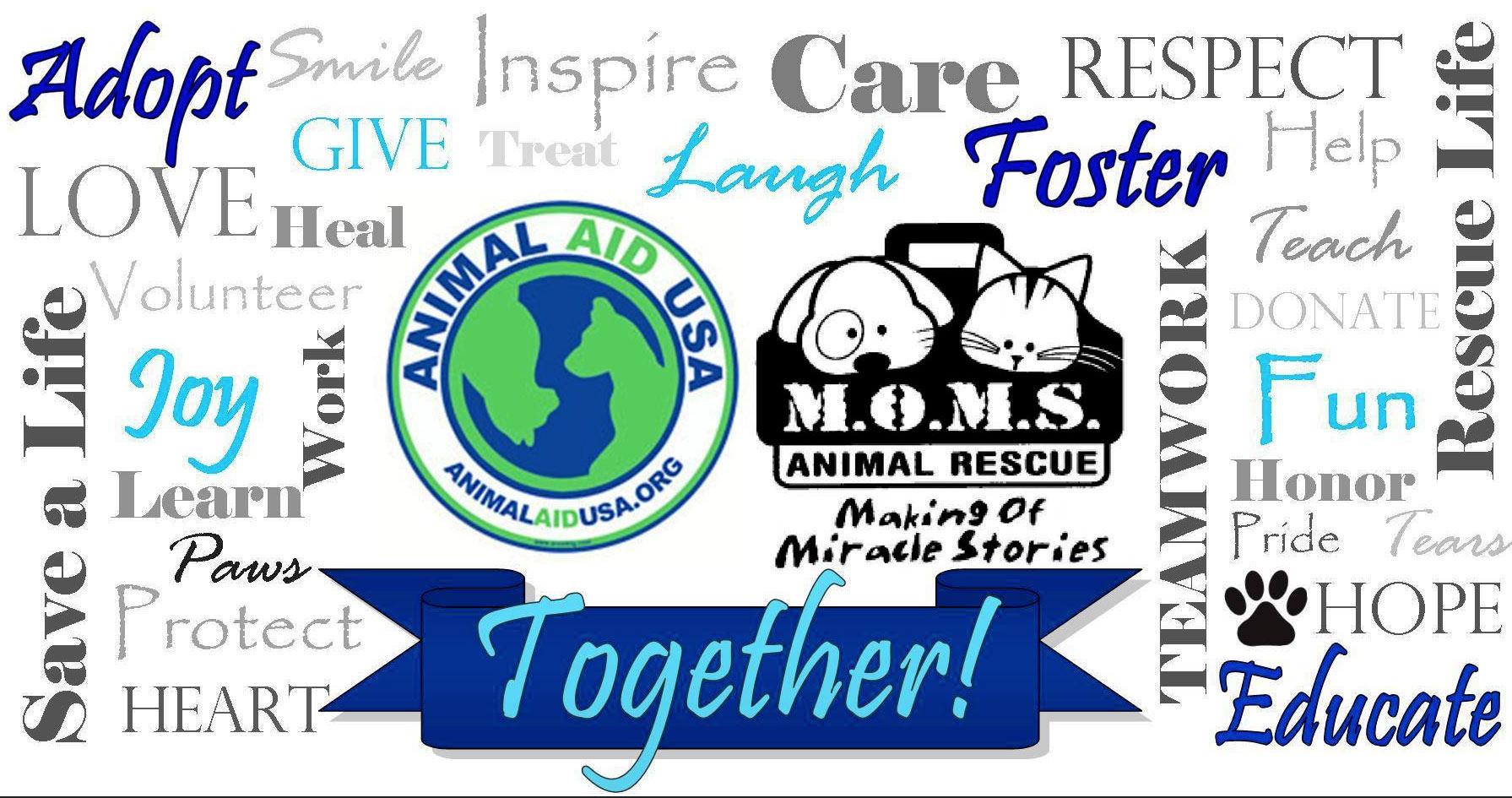 MOMS Partner With Animal Aid USA